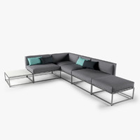 Gloster Cloud Lounge Sofa