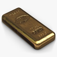 obj gold bar small 2