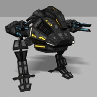 3d model assault mech
