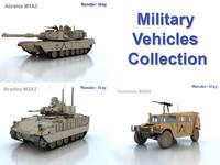 3dsmax vehicle military