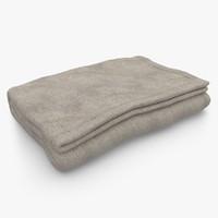 3ds max blanket fold beige