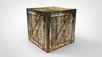 crate 3d fbx
