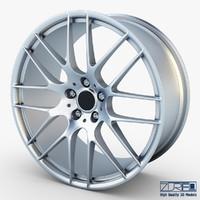 obj style 359m wheel silver