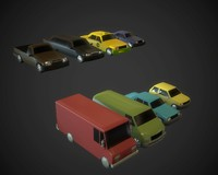carpack car 3d max