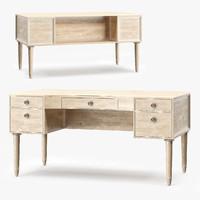 3d model venice desk