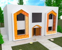 3d Chic Home exterior 1