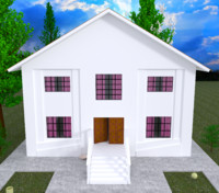 3d Chic Home exterior 2