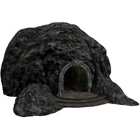 cave entrance 3d model