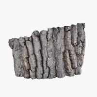 3ds bark 3 - oak
