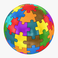 3d sphere puzzle