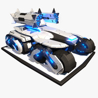 3d model sci apc tank