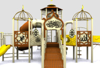 3ds max islamic playground