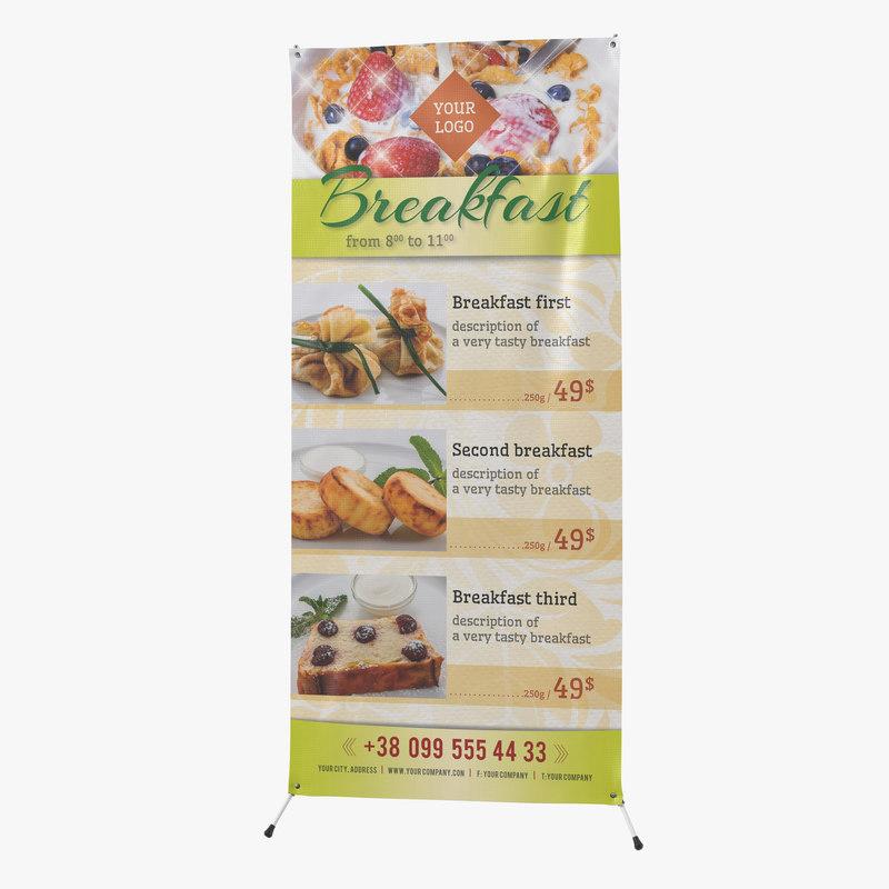 Banner Stand 3d model 01.jpg