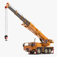 Compact Mobile Crane Rigged 2