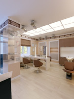 hair beauty salon interior 3d x