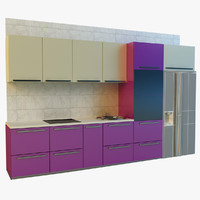 3d model kitchen