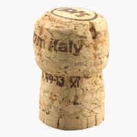 3d cork model