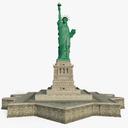 statue 3D models