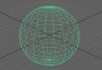 sphere 3d model