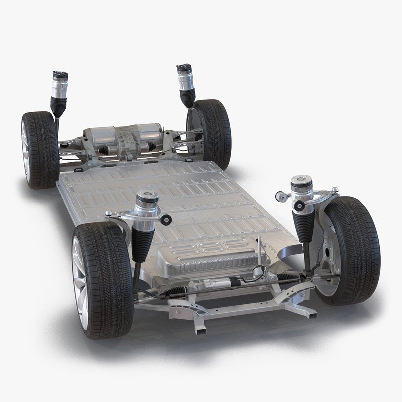 Tesla Model S Chassis 3d model 01.jpg