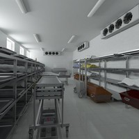 3d model morgue equipment device