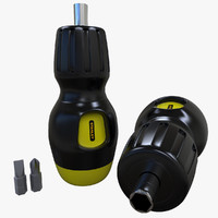 exchangeable screwdrivers 3d model