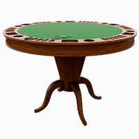 poker table obj