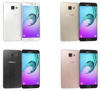 samsung galaxy a5 2016 3d model