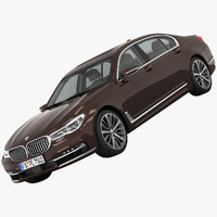 bmw 7-series luxury 3d max