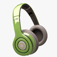 beats solo hd 3d model