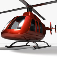 helicopter 3d 3ds