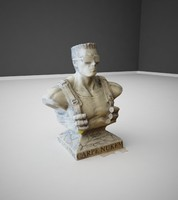 bust sculpture 3d max