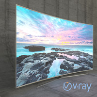 3d model samsung led tv