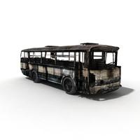3d model bus old
