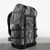 3d max hiking pack