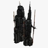 sci fi city 3ds