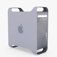 3d model of power mac g5