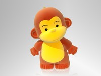 3d obj 2016 monkey