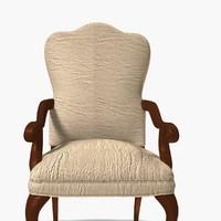 wooden foam chair