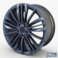 3d style 332 wheel ferric model
