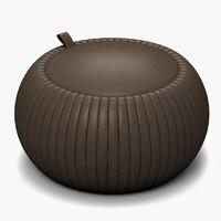 pouf 3d model
