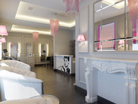 max hair beauty salon interior