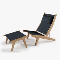 3d bay reclining chair model