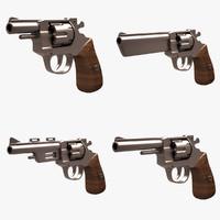 revolver 3d max