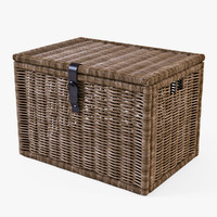 wicker rattan chest ikea max