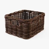 3d wicker basket ikea byholma