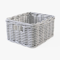 3d model wicker basket ikea byholma