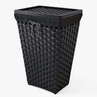 laundry basket ikea knarra 3d max