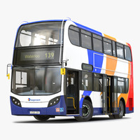 3d model bus enviro400 rigged