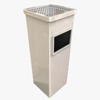 obj ashtray bin